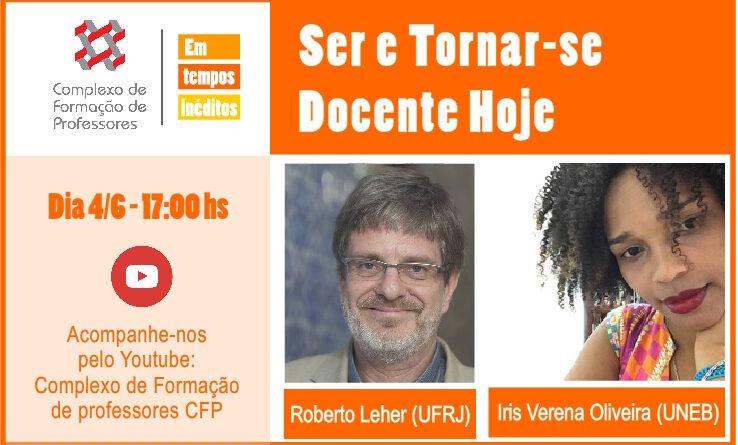 CFP Em Tempos Inéditos: Acompanhe as lives todas as quintas, 17:00hs!